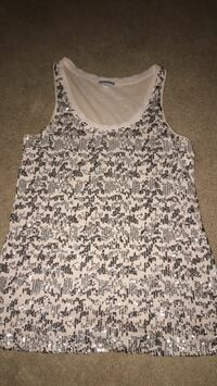 women's white and black tank top Hagerstown, 21742