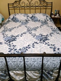 Queen size Bedspread only Pearl