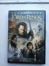 The Lord of the Rings DVD case