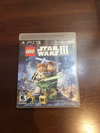 Lego Star Wars 2 PS3 game case