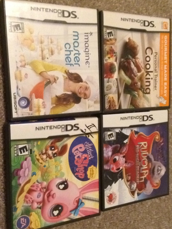 Nintendo ds video games some missing manuals