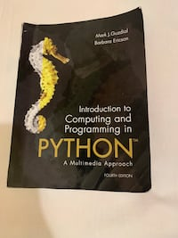 Intro to Computing and Programming in Python Toronto, M4H 1L3