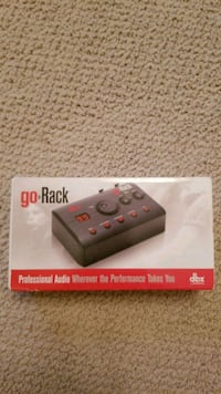 DBX goRack portable effects processor Danbury, 06810