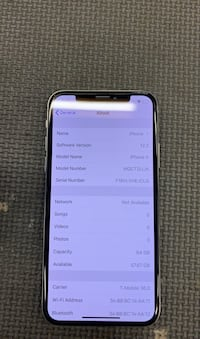 iPhone X 64gb SPRINT New Orleans