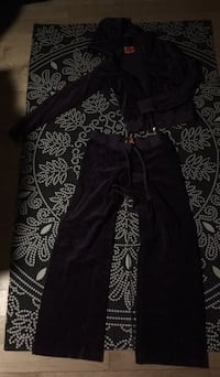 Juicy Couture Purple velvet sweat suit  Montclair