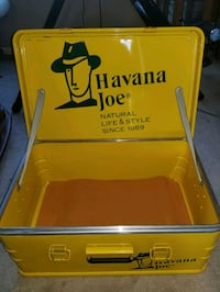 HAVANA JOE STEEL SHOE CASE VINTAGE 2 of a kind sal Woodbridge, 22192