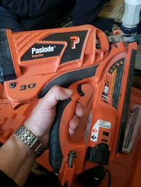 Battery Powered Finishing Nail Gun $220
