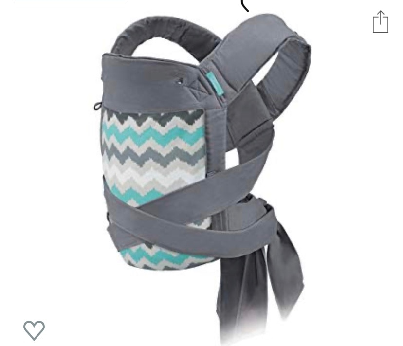 Photo Infantino Sash and Tie Wrap baby carrier