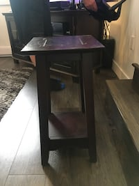 Brown side table Vancouver