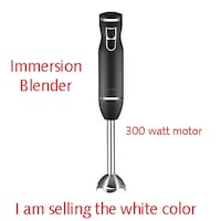 New Chefman 300-Watt 2-Speed Control Immersion Hand Blender Lanham