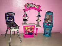 Barbie play n' prize arcade Playset Fall River, 02720