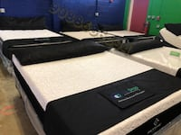 black and white bed mattress Monroe Township