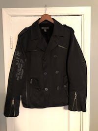 Black military style jacket Washington, 20002