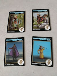 Advance dungeon and dragon 2 ND edition trading cards