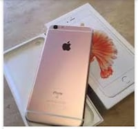Rose gold iphone 6s with box CASH ONLY  New York, 10304
