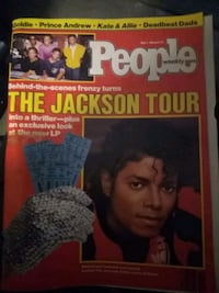 May 7th, 1984 People Weekly mag w/ Jackson Cover  Aurora, 80017