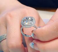 Engagement sterling silver 925 ring Richmond Hill, L4E 3T4