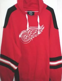 Detroit Red Wings Pullover Hoodie by Carl Banks Size XXL