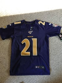 2019 Mark Ingram Ravens Jersey Bel Air, 21014