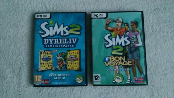 2x the Sims 2 spill