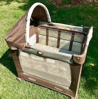 Grace Travel Lite Crib with 3 Stages Davis, 95616
