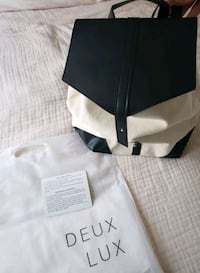 DEUX LUX backpack made from vegan leather & canvas Hagerstown, 21742
