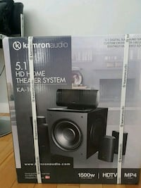 black and gray Sony stereo component Montreal, H1S 0A6