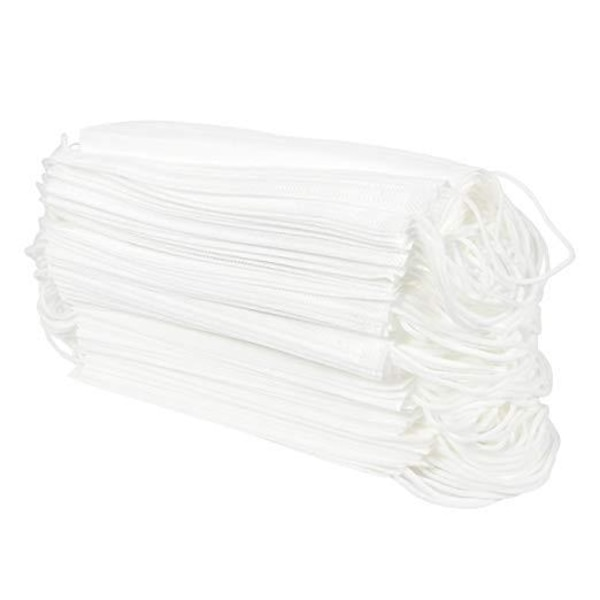 PACK OF 100 DISPOSABLE FACE MASKS