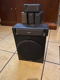 5 speakers and subwoofer sony