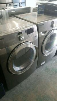 gray front-load washer and dryer set Lynwood, 90262