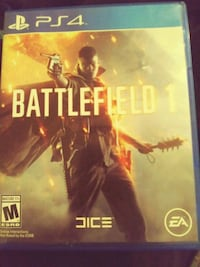 Battlefield 1 Xbox One game case Prattville, 36067
