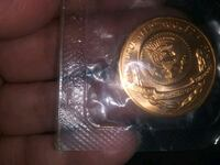 Copper Gerald Ford 1975 INAUGURATION COIN
