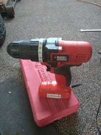 red and black Black & Decker cordless hand drill Doña Ana County, 88007