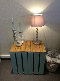 Homemade shabby chic coffee table in mint 6250 km