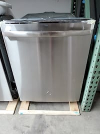 New GE Top Control Dishwasher In Stainless Steel with Stainless Steel Tub  Clarksville