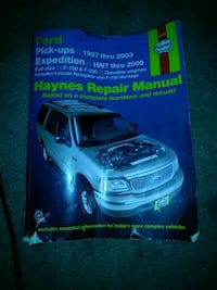 Haynes Ford truck and suv repair book  Lancaster, 93534
