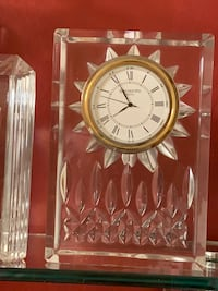 Waterford Crystal clock  Des Peres, 63131
