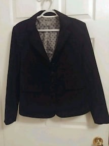 Size 9 - Fmx travelers stretch black blazer