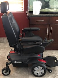 power chair mid wheel drive