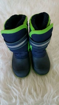 Toddler Winter Boots with Lights size 8 Toronto