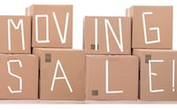 Huge moving sale August 23-24 Cicero, 60804