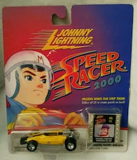 Collectible Johnny lightning speed racer 2000