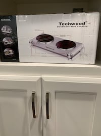 Techwood Infrared Double Cooktop