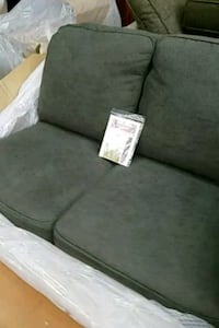 Gray 2 seater sectional piece new  Toronto, M6P 3S6
