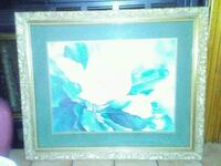 white and blue flower painting Bristol, 37620