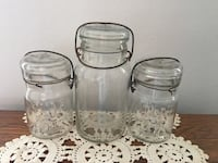 clear glass jar with lid Myersville, 21773