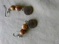 Brown beaded dangle earrings Waynesville, 28785