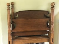 Matching Antique Wooden Twin Beds Spring City, 19475