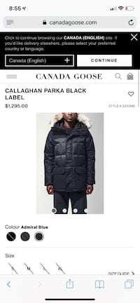 Beautiful Canada goose Callaghan parka black label Toronto, M9L 1K2