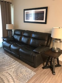 MUST SELL Comfortable leather reclining couch Hollywood, 33020